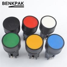 22 мм Мгновенный кнопочный переключатель 3pin