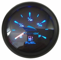 Pack of 1 New Arrival 52mm Fuel Level Gauges 0 190ohm or 240 33ohm 0 180ohm Fuel Level Meters with 8 Kinds Backlight Color