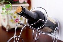 De alta Calidad de Resina Estante Del Vino Bar Artes Diseño Vino Tapón de la Botella de Vino Bastidores de Juguete Hecho A Mano decorativo Casero Accesorios