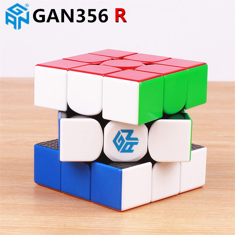 Image 2 - GAN356 R 3x3x3 magic speed cube stickerless professional gan 356R puzzle cubes educational toys for children gan 356 R-in Magic Cubes from Toys & Hobbies