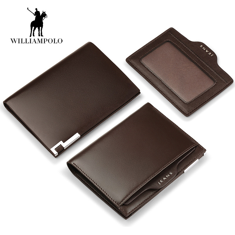 2017 NEW 100 Italy Genuine Leather Men s Vertical Bifold Short Wallet Men Small Wallet Coin