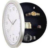 1pcs Modern Design Digital Clock Safe Storage Box Clock Plastic Jewelry Money Hidden Secret Stash Safe