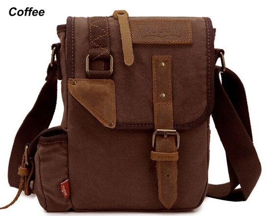 45e01b68fbc2 Detail Feedback Questions about Fashion 2015 Vintage Military Canvas  Leather Men Messenger Bag Crossbody Bag Canvas Shoulder Bag Sling Casual Bag  Free ...