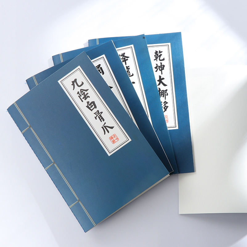 1Pack Retro Chinese KungFu Secret Novelty Notebook Book Office Stationery Diary Planner Notepad for School Student Gift E0427