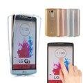 Для LG G4 G5 Мягкий 360 ТПУ Всего тела Защитные Кристалл ясно передняя задняя крышка Для Samsung Galaxy J5/J7 Премьер-Core Prime G3606