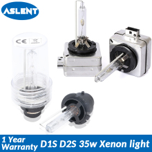 Aslent 2pcs D1S D2S D3S D4S Xenon headlight HID Bulbs CBI bulb D1 D2 D1R D2R for Auto headlamp light 6000K 8000K 12V 35W