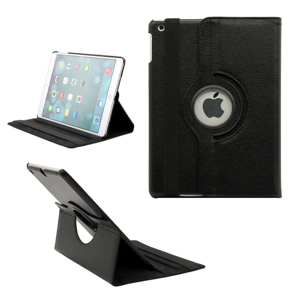 9.7'' Tablet Case for iPad 2 iPad 3 iPad 4 360 Case Smart Magnetic Rotation Stand A1430 A1459 Cover for iPad 4 Cover 360 Stand (5)