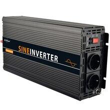 2500 Вт/5000 Вт(пик) Чистая Синусоидальная волна солнечной энергии инвертор постоянного тока 12 В в переменного тока 220 в 230 В в высшего качества