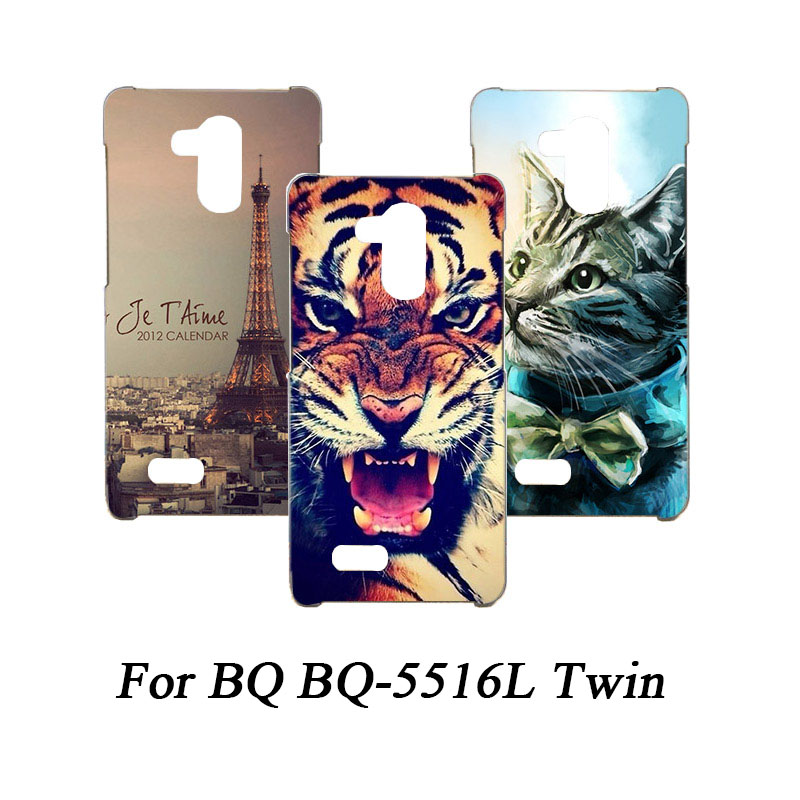 Soft Tpu Phone Case For <font><b>BQ</b></font> <font><b>BQ</b></font>-<font><b>5516L</b></font> <font><b>Twin</b></font> Cases Silicone Painted Wolf Rose Eiffel Fundas Sheer For <font><b>BQ</b></font> <font><b>BQ</b></font>-<font><b>5516L</b></font> <font><b>Twin</b></font> Back Cover image
