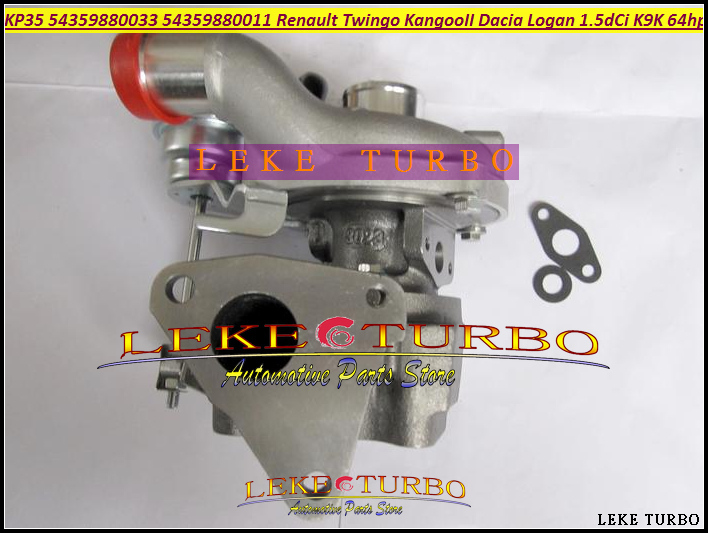 Turbo KP35 011 033 54359700011 54359700033 8200507852 Turbocharger For Renault Kangoo 2 Twingo II Dacia Logan 2004- K9K 1.5L dCi for dacia logan saloon ls