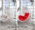 Balanço pendurado cadeira de balanço cadeira de suspensão cadeira de jardim cadeira de balanço Foshan móveis de agente