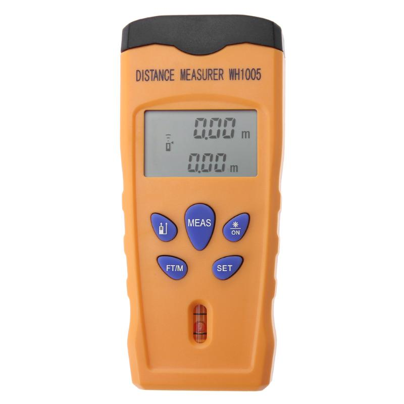 Многофункциональный ручной ЖК-дисплей ультразвуковой измеритель расстояния 0.5-18 м дальномер Площадь тестер объем мера измерительный прибо...