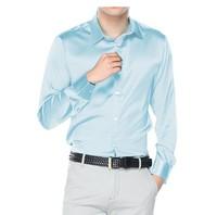 Новинка 2018 Длинные рукава 3 полноценно коммерческий шелк тутового шелкопряда рубашки мужские cultivate One's morality рубашка мужской xs 6 XL