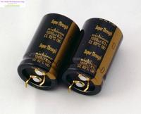 2pcs Nichicon Audio Electrolytic Capacitors KG Super Through 1000UF 63V 22 35mm Super Capacitor Penetration Free