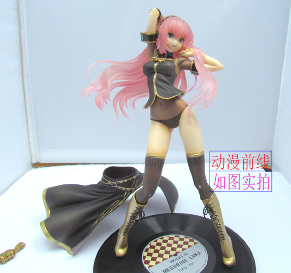Free Shipping Hatsune Miku VOCALOID Megurine Luka 1/7 Scale Painted sexy Figure kisstyle fashion vocaloid megurine luka white army military uniform cos clothing cosplay costume customized accepted