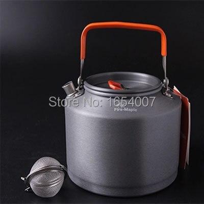 venda quente de bordo fogo equipe 1 5l fmc t4 chaleira camping piquenique panelas cha cafeteira