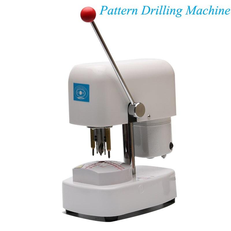 Lunettes équipement Instrument lentille modèle poinçonneuse magasin optique dédié Machine de forage LY-918C