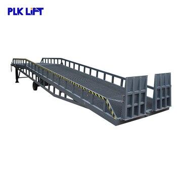 Rampa hidráulica industrial del muelle de carga del contenedor 12t con Ce