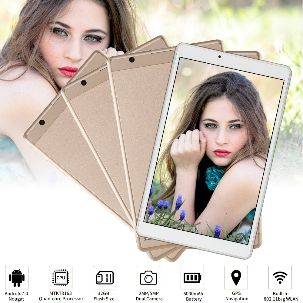 High Speed GPS smart 10.1 inch Quad Core 32GB Tablet Aoson R103 Android 7.0 Tablet 2GB RAM MTK8163 1280*800 Wifi PAD Metal Case