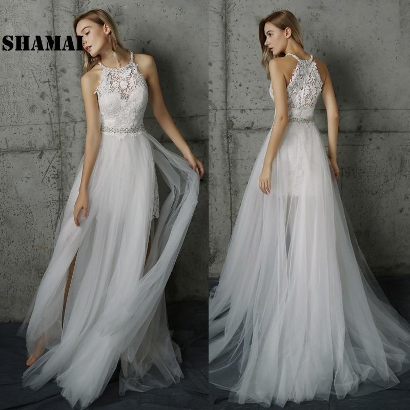 Boho Wedding Dresses 2019 Vintage Bride Dress Country