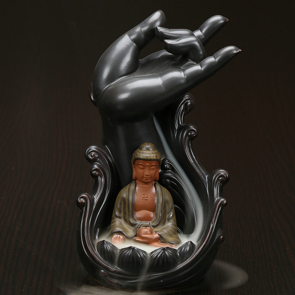 Ceramic Incense Backflow Hand 15