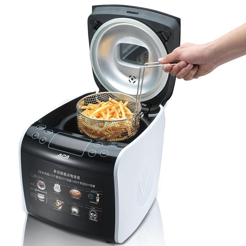 3 in 1 Potato Deep Fryer-Rice Cooker-Cake Baking Appliance