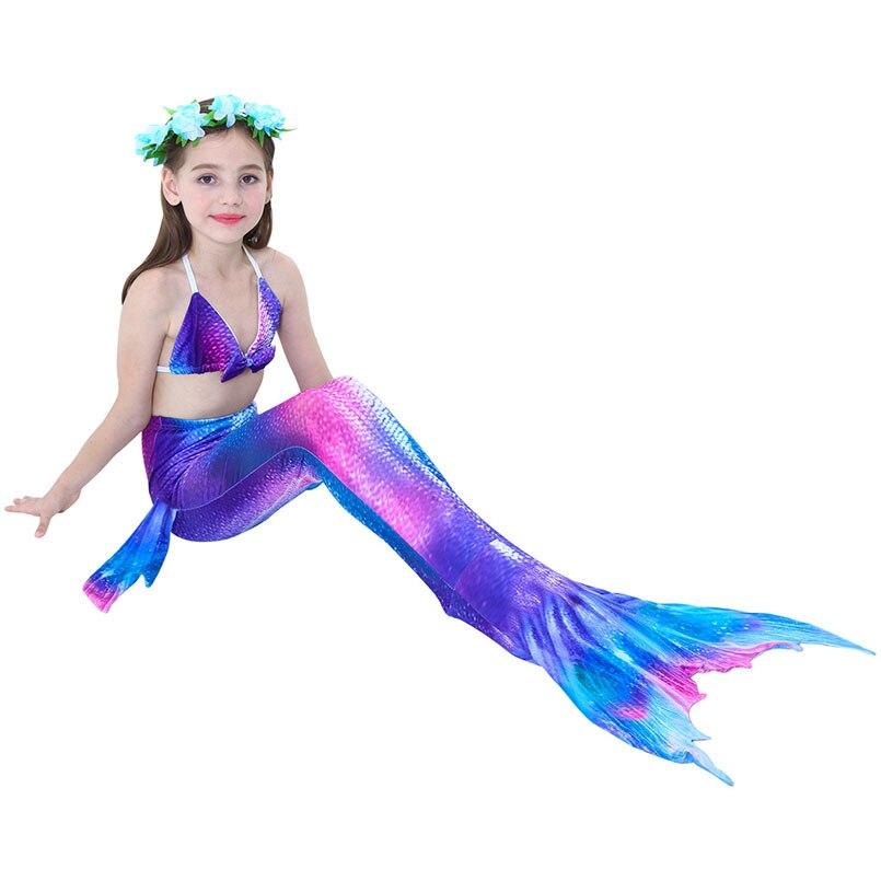 girls mermaid tail swimwear 5-2