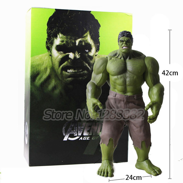 Action Toy Figures 2017 Hot Collect Toys HULK PVC Toy Big Size Hulk Hulkbuster 42cm Model Toys (no original packing box)