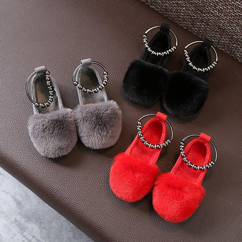Bavoirsj Big Size Harig Nieuwe collectie Ronde Teen Baby Roze Casual - Baby schoentjes - Foto 1