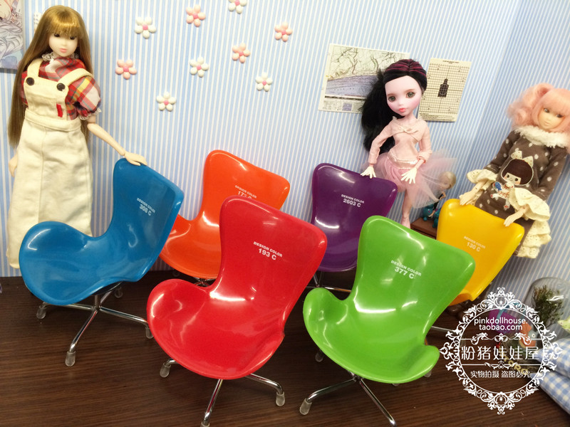 Free Shipping 4pcs doll chair doll furniture for monster high doll accessories for barbie