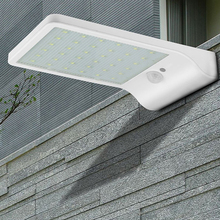 цена на LED Solar Garden wall Light Motion Sensor light waterproof outdoor night Lamp Smart Auto on/off Energy Saving for home lighting