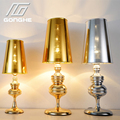 Classic Brief Fashion Bedroom Bedside Table Lamps Light E27 Reading Desk Lamp For Home Decoration