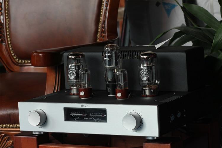 Готовой высокое Мощность KT88 HIFI ламповый Мощность усилитель USB DAC декодер 4 путь аудио источник Функция Новый