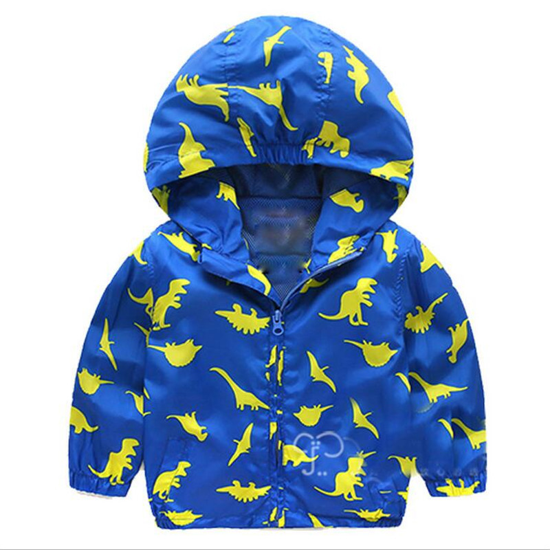 пальто для счастливых мальчиков с принтом в виде героя мультфильма весенние осенние детские модные пальто для мальчиков для дождливой пого...