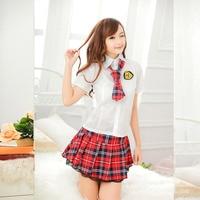 Charming School Student Teacher Cosplay Costumes Exotic Japanese School Girl Anime Uniform Skirt Sexy Lingerie Halloween