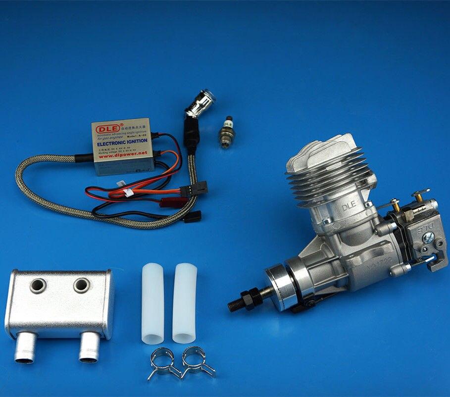 100% Original New DLE Gas <font><b>Engine</b></font> DLE20RA 20CC Gasoline Updated WALBRO Carburetor For Model <font><b>RC</b></font> Airplane
