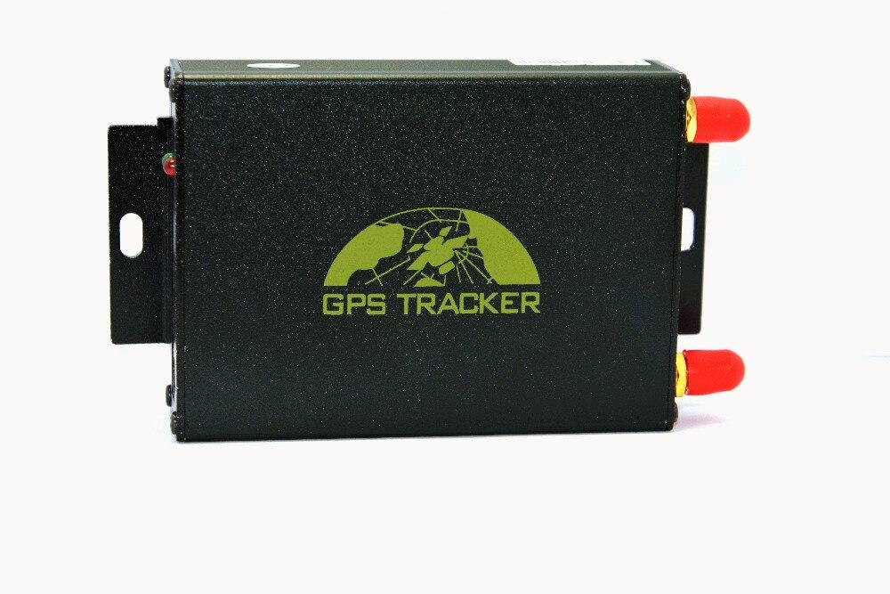 Traqueur de voiture GPS double SIM Lexitek TK105A avec système de verrouillage central en option