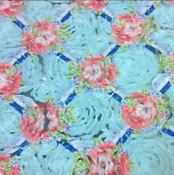 100 Blumen Stricken Häkeln Gradienten Stoff Das Tuch Nuvem