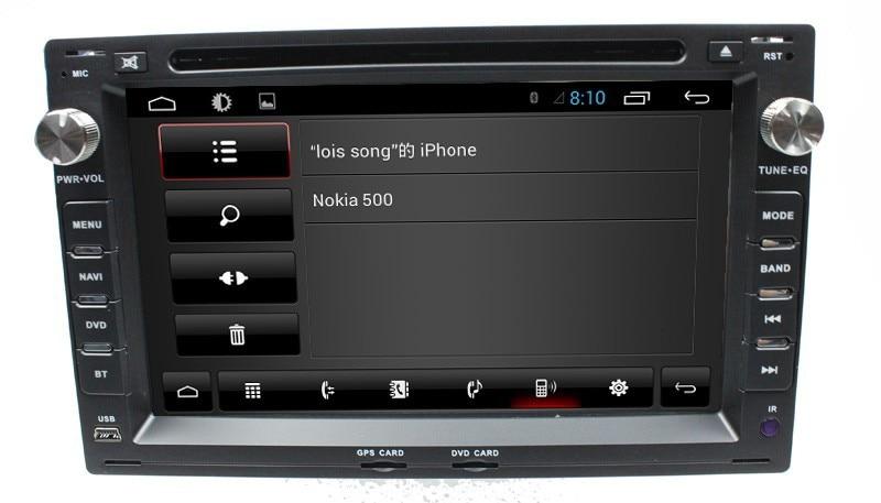 For VW fox crossfox espacefox spacecross with 4core 3G Wifi Radio BT phonebook Ipod list USB