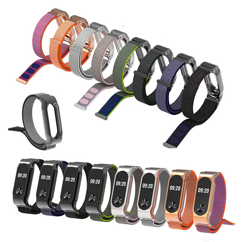 CARPRIE Lightweight Nylon Adjustable Replacement Band Sport Strap For XiaoMI MI Band 2 180312 drop shipping