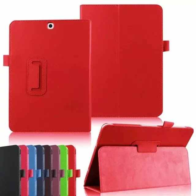 """Folio Soft Leather Stand Case Cover Voor Samsung Galaxy Tab S2 9.7 T810 T815 SM-T815C SM-T810 9.7 """"Tablet case"""