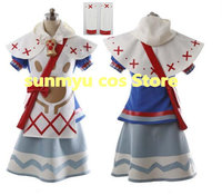 Free Shipping!MONSTER HUNTERS X Catgirl Monster Hunter Generations Cosplay Costume,Size customizable ,Halloween Price: US $115