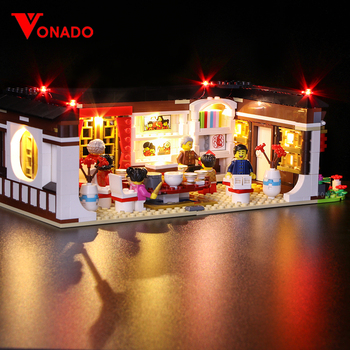 Led light for Lego80101 Chinese series2019New Year's dinner Dragon dance Model Building Kits Block Brick Compatible (Only light)