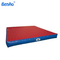 GA050 Free shipping 4*4m Inflatable Air Track / Inflatable tumble track / inflatable tramp tumbling gymnastics For Training