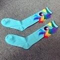 Европа осень 2016 сладкий мультфильм пони хвост ручной сшиты хлопчатобумажные носки Gaotong