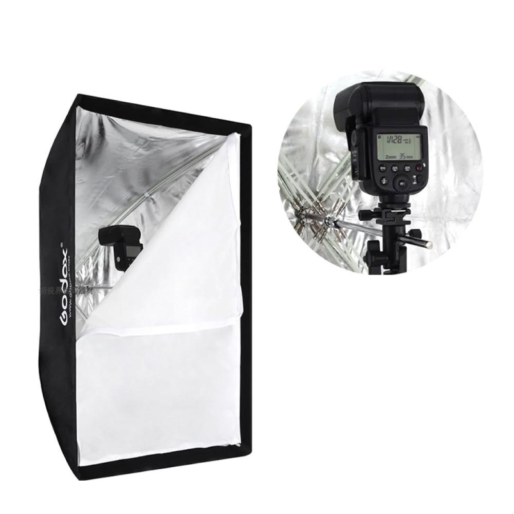 Godox 60 x 90cm / 24 x 36 Umbrella Softbox for Studio Photography Speedlite Flash Strobe Lighting
