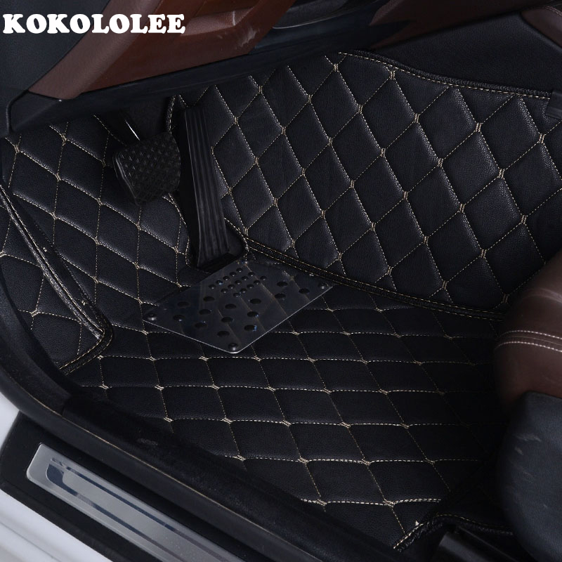 KOKOLOLEE Custom car floor mats for Honda All Models CRV XRV Odyssey Jazz City crosstour S1 CRIDER VEZEL auto foot mat accor headlight 2008 2016 free ship accor head light crosstour vezel city crx cr z element ev plus insight mdx jazz
