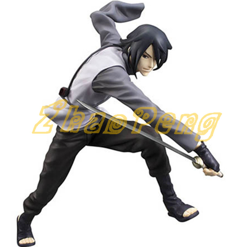 Anime Naruto figure Sasuke Uchiha action figure Naruto palgantong ver Collection Decoration model toy High quality brinquedos anime naruto brinquedos action