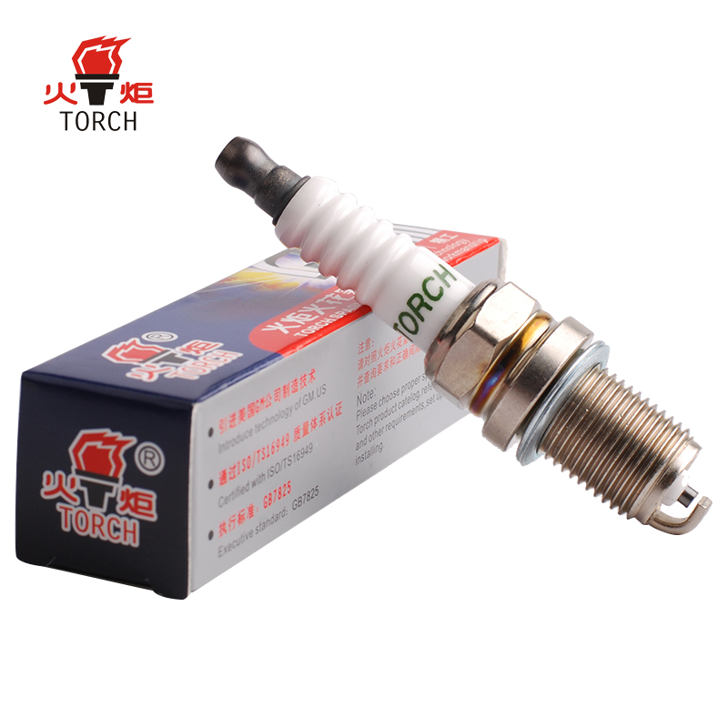 1 Piece TORCH Nickel alloy spark plug K6RTC for DONGFENG Rich/FAW besturn b50/v2/vita.A box of four spark plugs, please buy 4.
