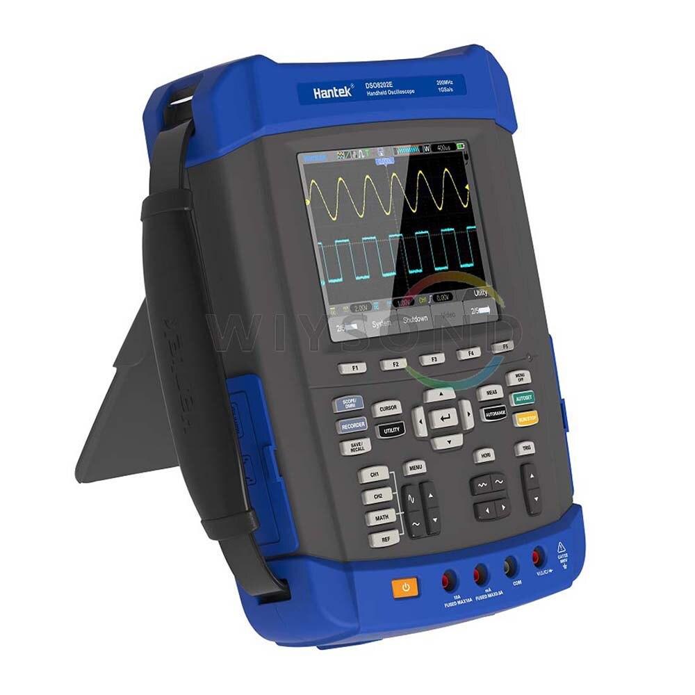 6in1 Digitale Oscilloscopio Multimetro Analizzatore di Spettro Generatore di Forme D'onda di Frequenza Contatore Registratore DSO8102E DSO8152E DSO8202E